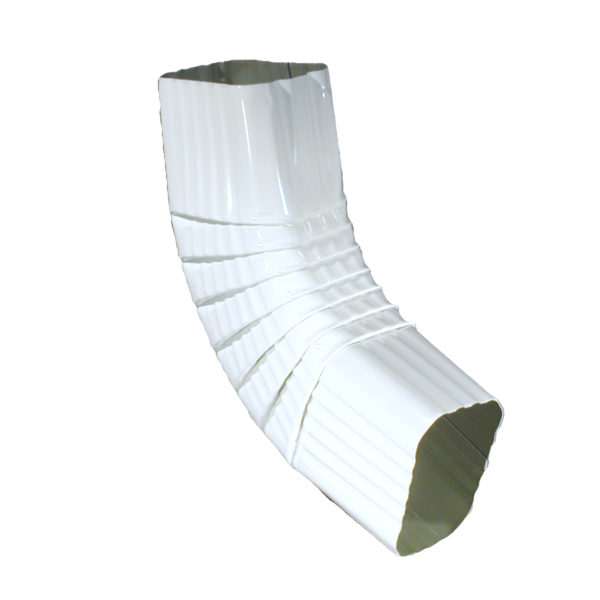 B ELBOW 2″ X 3″ SQUARE WH