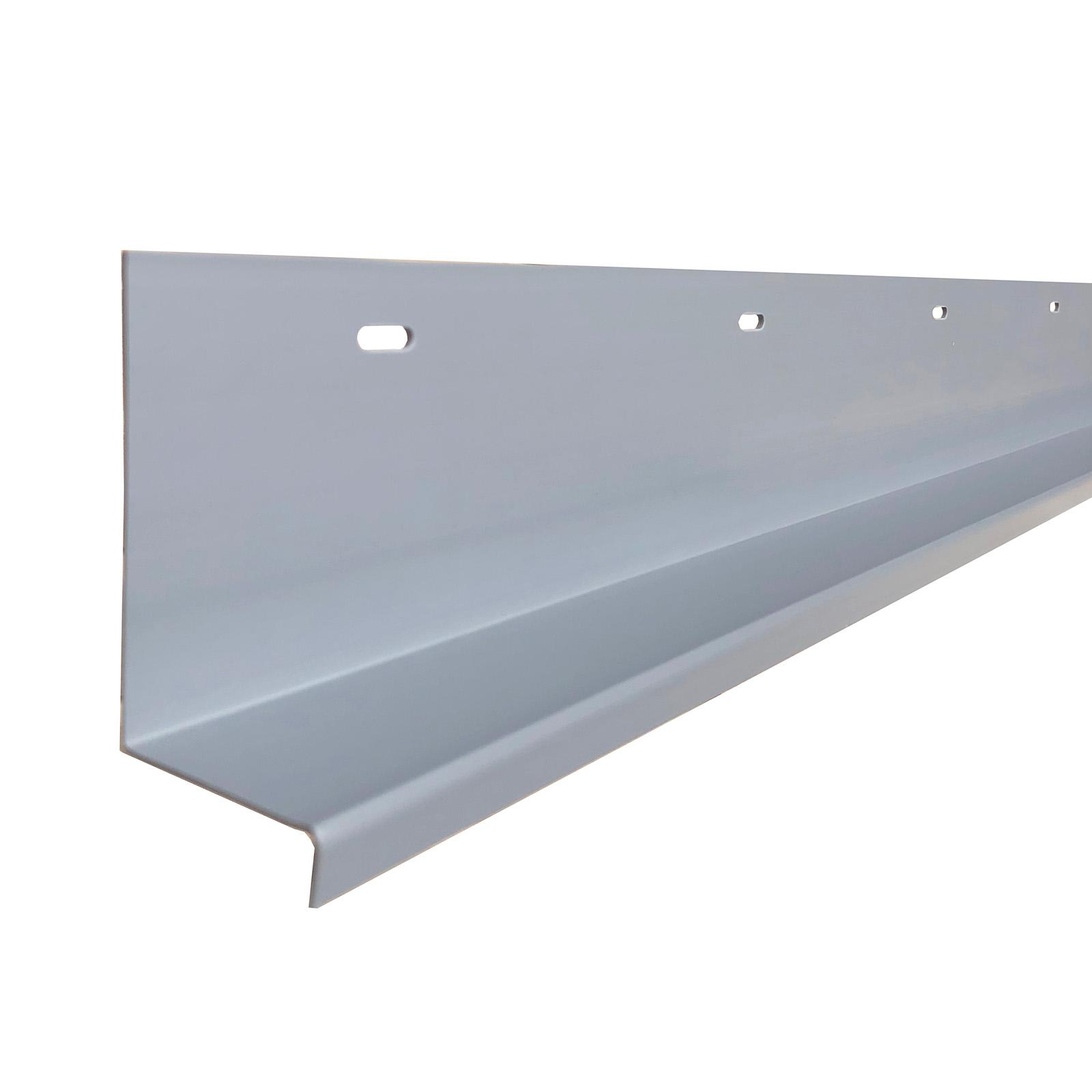 Deck Ledger Flashing Cap Plastic Gray