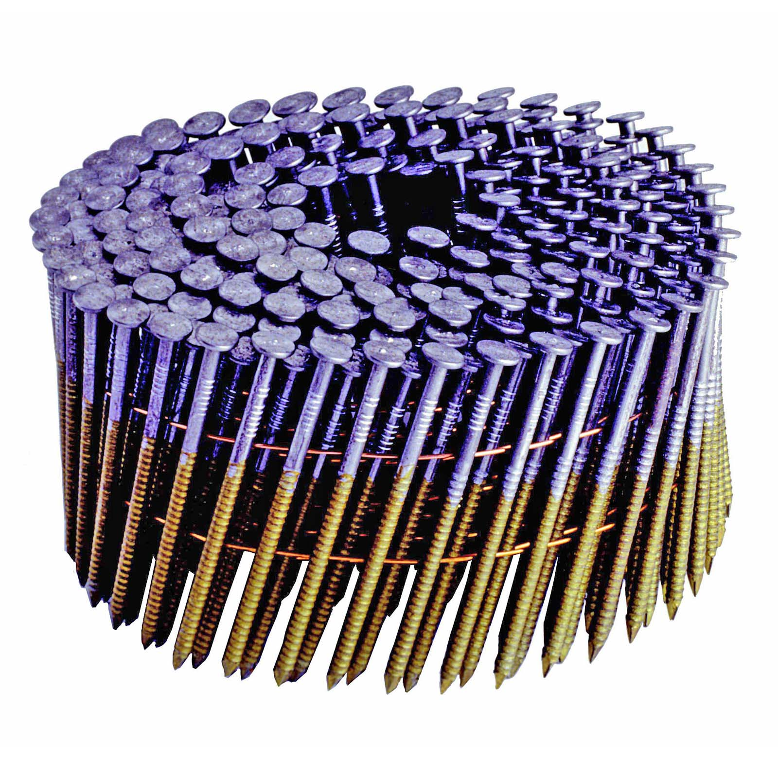 15 6D WIRE RING COATED COIL NAIL