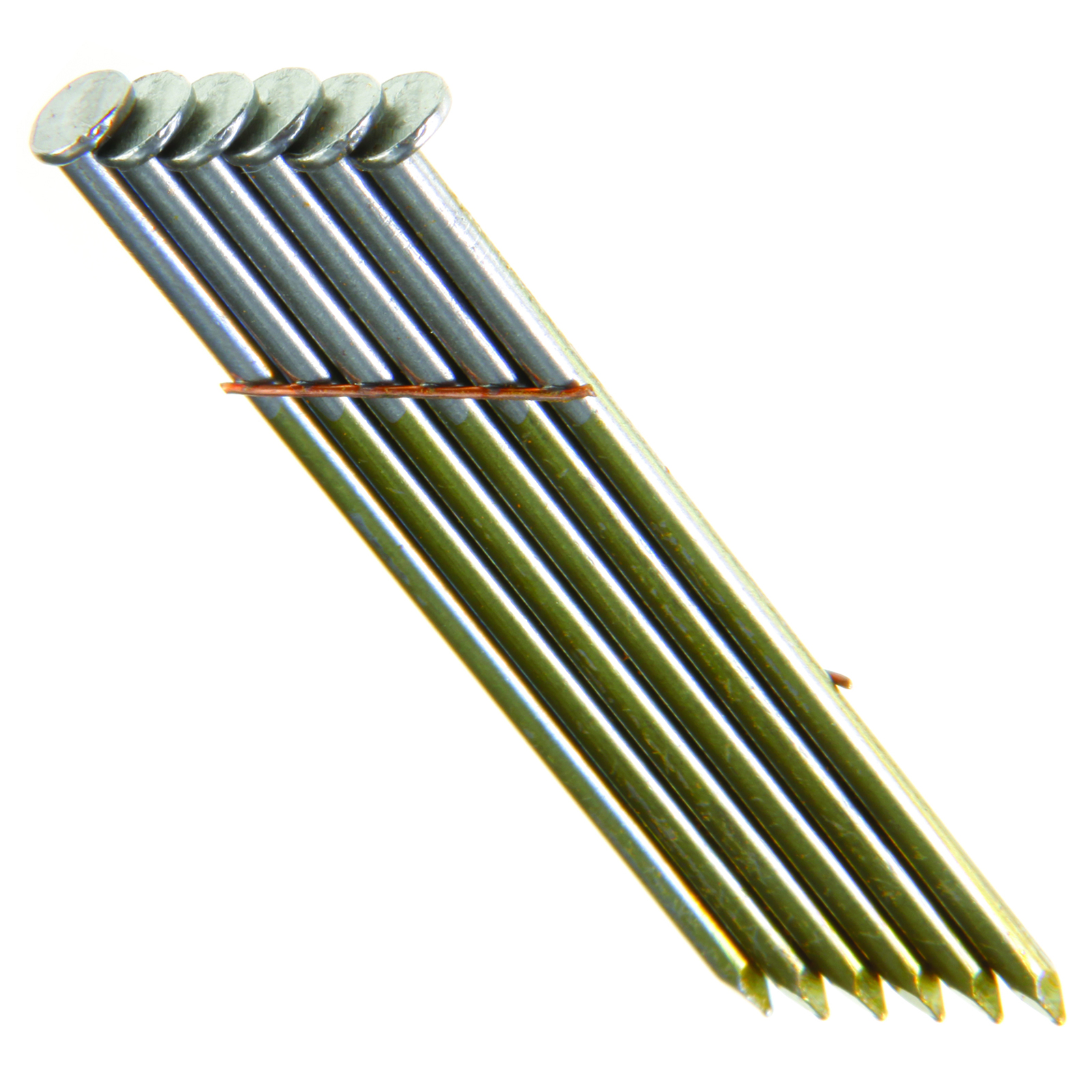28 12D RH WIRE SMTH COATED STICK NAIL
