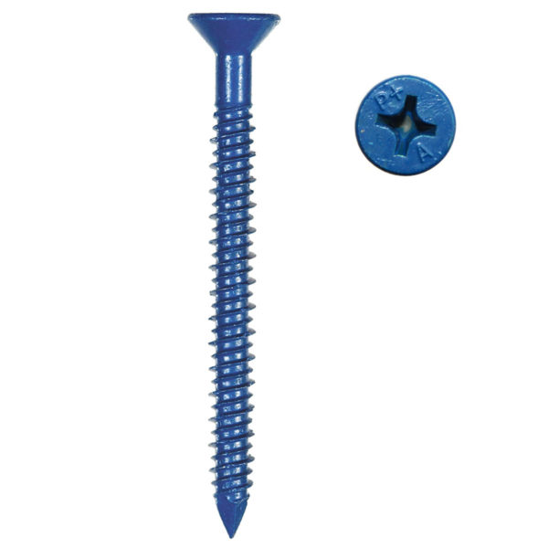 Tapper – Blue Concrete Screw, Phillips