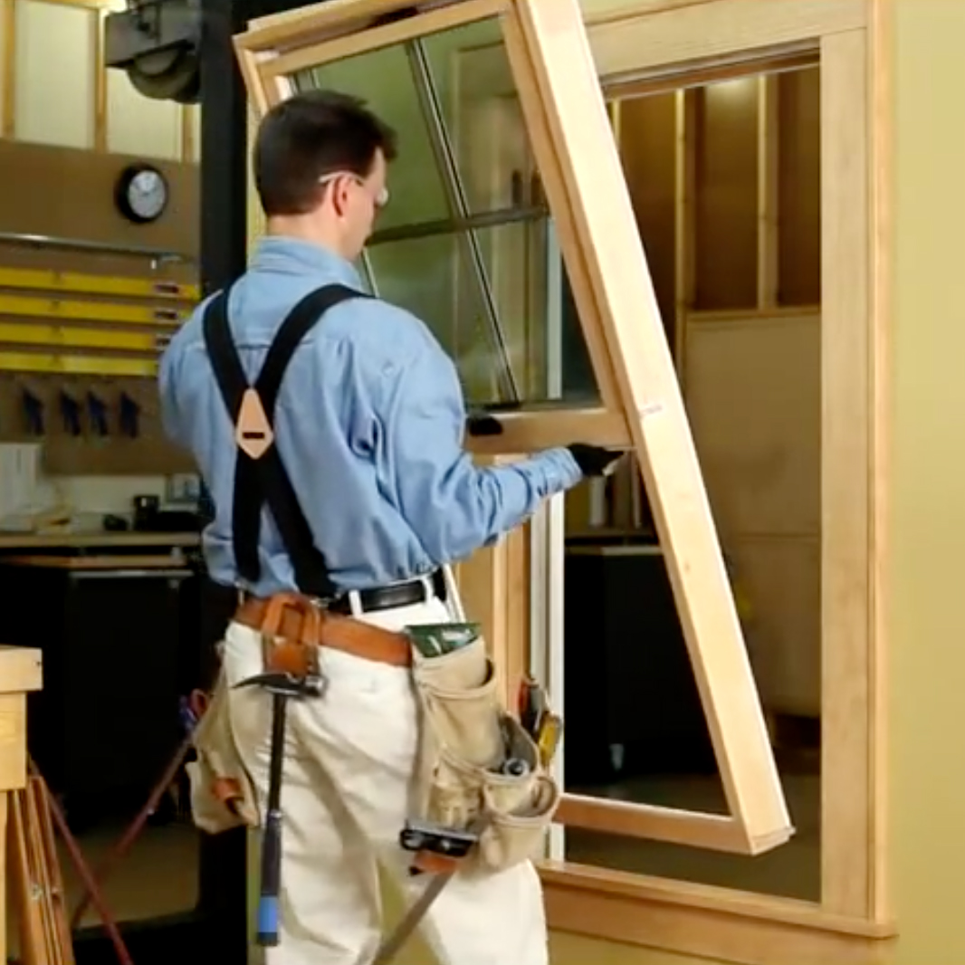 TILT-WASH DOUBLE-HUNG INSERT WINDOW