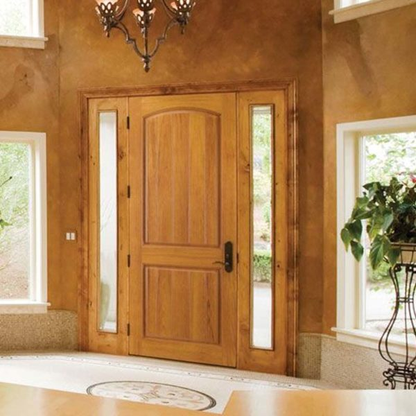 Fiberglass Stainable Entry Doors