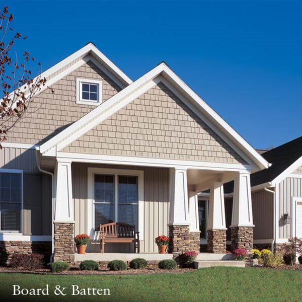 GP BOARD & BATTEN VINY SIDING