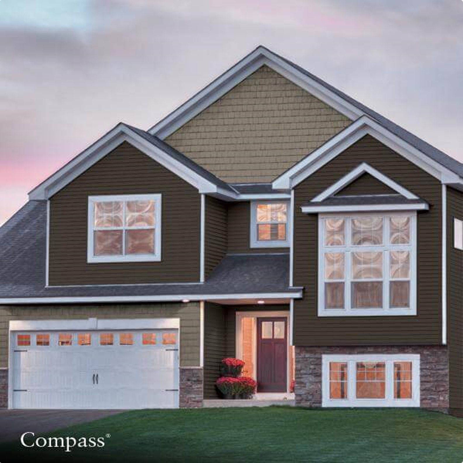 GP COMPASS VINYL SIDING