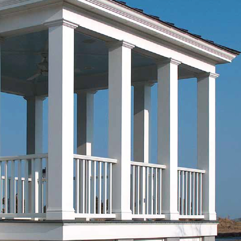 PORCH COLUMNS POSTS AND BALUSTRADES