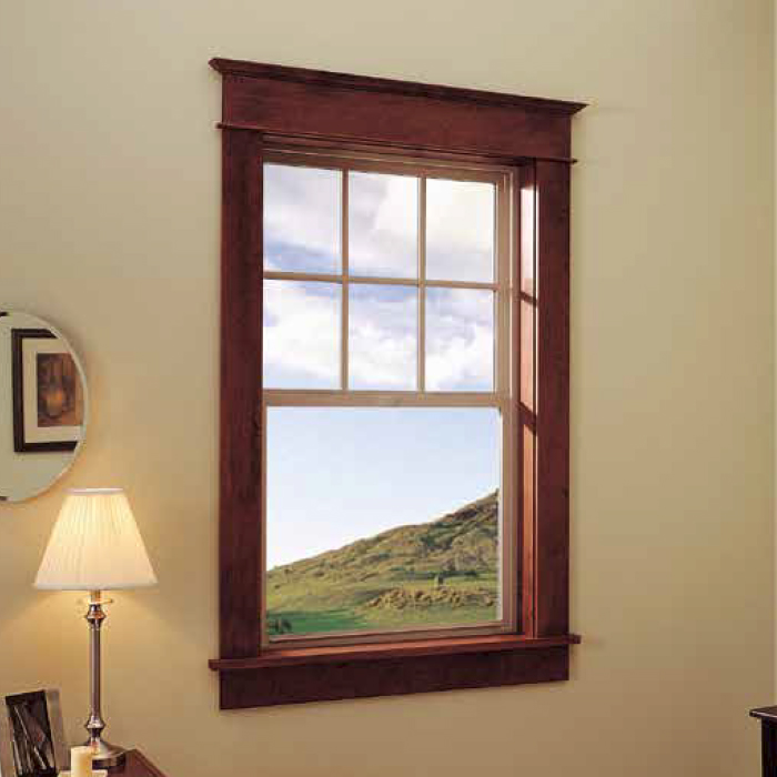PREMIUM VINYL DOUBLE-HUNG WINDOW