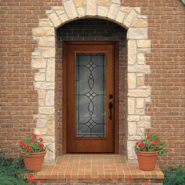 FIBER-CLASSIC OAK ENTRY DOOR SYSTEMS